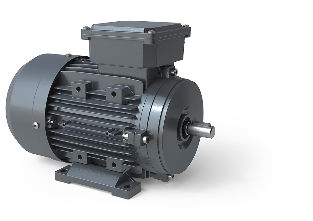 Metric IE1 Aluminum Motors