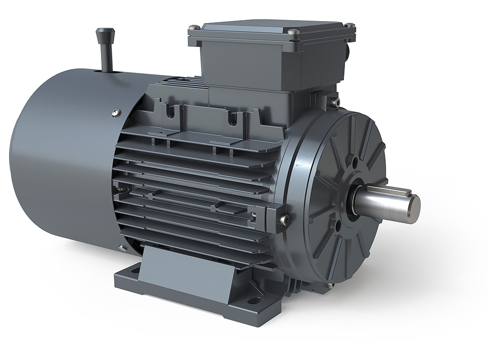 Metric IE1/IE3 Brake Motors