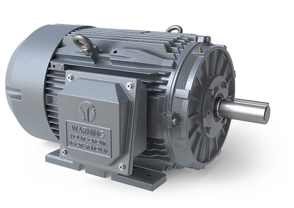 Premium T-Frame Cast Iron Motors