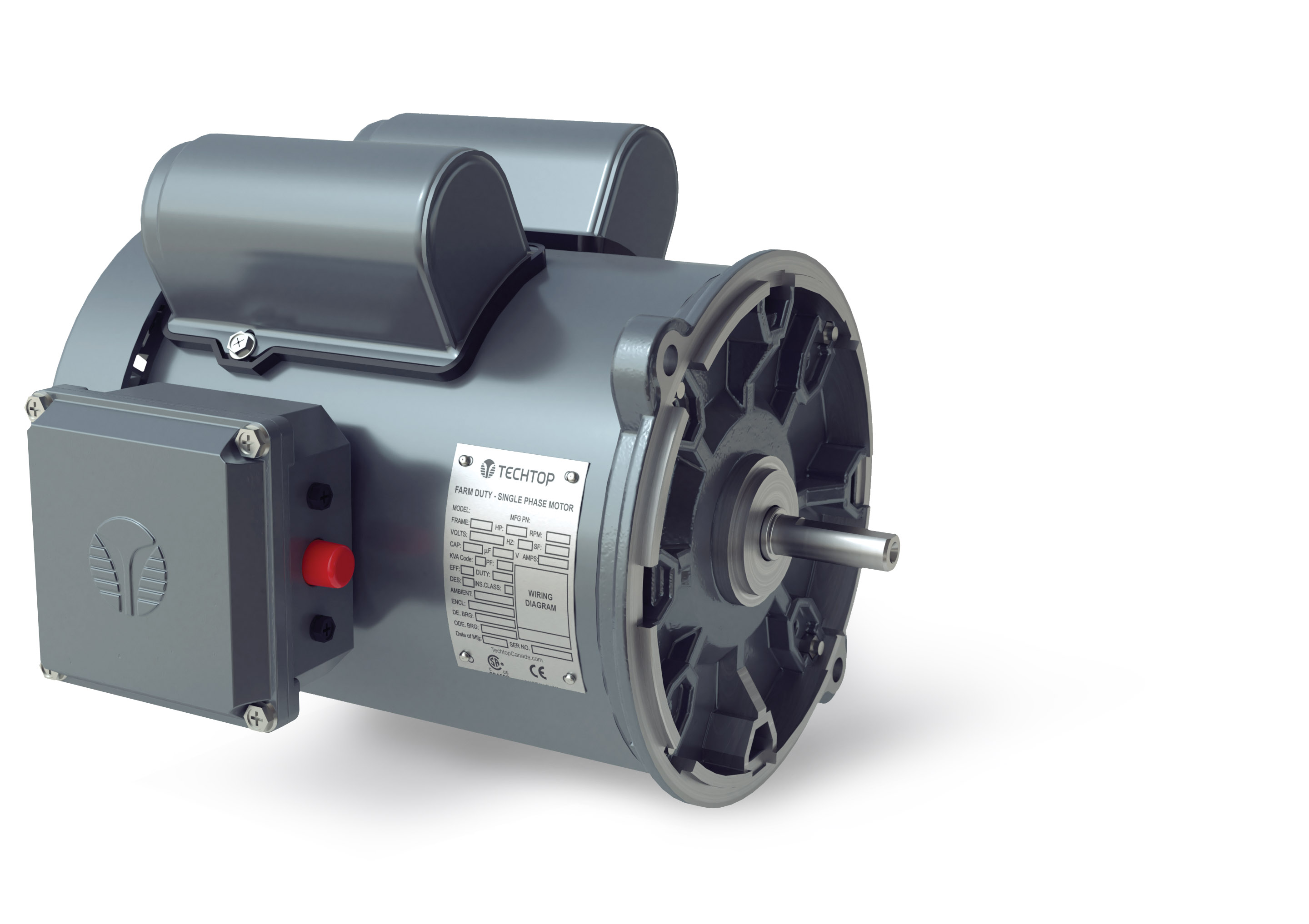 Farm Duty Single Phase Auger Motors